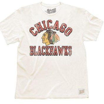 Chicago Blackhawks Tee by Retro Brand