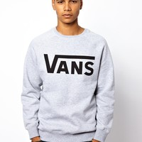 Vans Classic Logo Crew Neck Exclusive To Asos