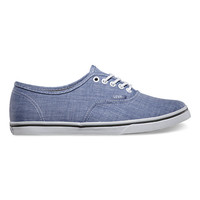 Chambray Authentic Lo Pro | Shop Classic Shoes at Vans