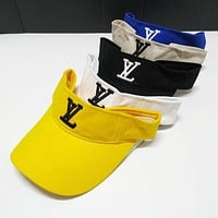 LV Louis Vuitton Summer Fashion Women Men Embroidery Sports Sun Hat Baseball Cap Hat