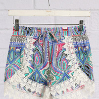 Dreamy Kaleidoscope Shorts