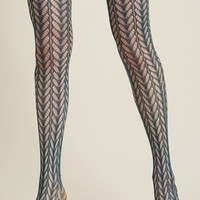Motif Maven Tights in Teal