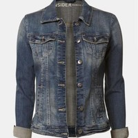 Jean jacket | Shop Online at Smart Set