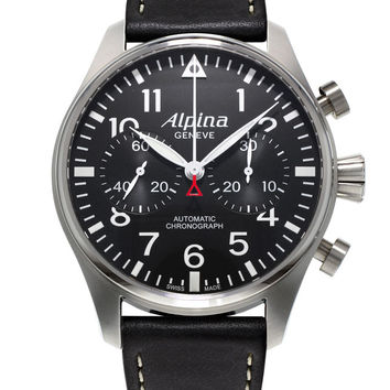 Alpina Startimer Pilot Mens Chronograph Automatic Watch AL-860B4S6