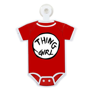 Dr. Suess Thing Girl Custom Printable Digital Iron On Transfer Clip Art DIY Tshirts Onesuits Instant Download