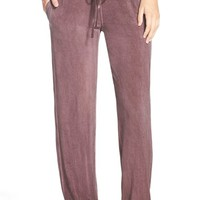 Women's Daniel Buchler Washed Out Lounge Pants,