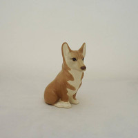 Sadler Corgi Figurine, Sadler Corgi Dog Figurine, Corgi Dog Ornament, Collectable Corgi Dog Figurine