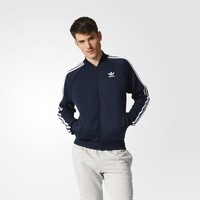 adidas Superstar Track Jacket - Blue | adidas US