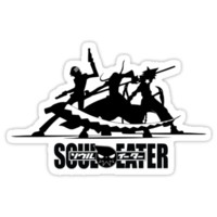 'Soul Eater Trio' Sticker by Gamego