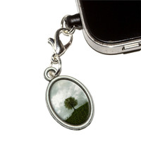 Lone Tree on the Hill - Vineyard Mobile Phone Charm