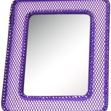 Inkology Glam Rock Mesh Locker Mirror, 591-9 (colors may vary)
