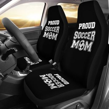 Soccer Mom Custom Printed Car Seat Covers (set 2 of 2)