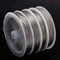 10M fishing Stainless steel wire line 7 strands Trace with Coating Wire Leader Coating Jigging Wire Lead Fish Jigging Line