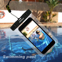 100%sealed waterproof phone case  for iphone  6 plus for iPhone7, for Samsung S6,S7, fit for siwmming,surfing,under water sports