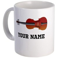 Personalized Violin Mug by milestonesmusic