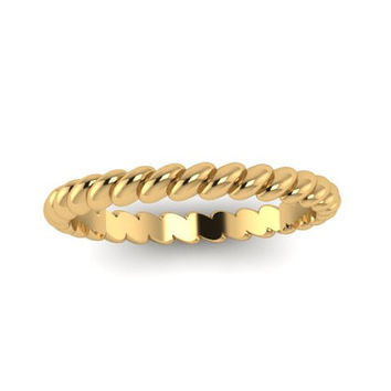 Wedding Band, Stuck Band, Yellow Gold, White Gold, Rose Gold, Promise Ring OR00021