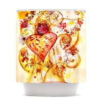 """Marianna Tankelevich """"Tree of Love"""" Shower Curtain"""