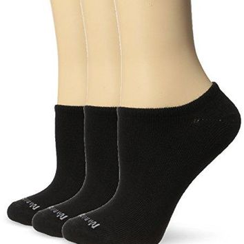 No Nonsense Womens Ahh Said The Foot No Show Liner Sock with Pique Welt 3Pack