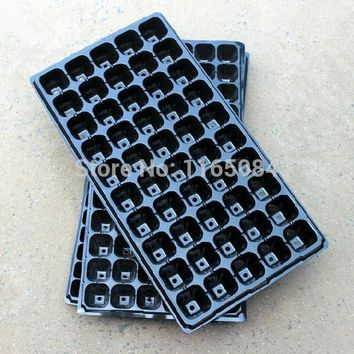 garden supplies Hot sale Seedling tray sprout plate 200 holes nursery pots tray box