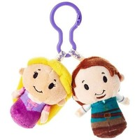 Tangled Rapunzel and Flynn Rider itty bittys® Clippys Stuffed Animals