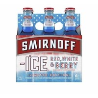 Smirnoff Ice Red White & Berry Cocktail, 6 pack, 11.2 fl oz - Walmart.com