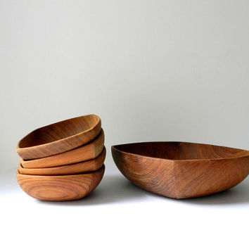Wooden Serving Bowls