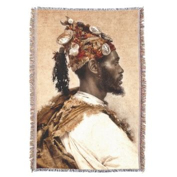 Parache, the Dancer Tapestry Throw