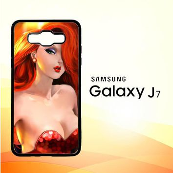 jessica rabbit Z1527 Samsung Galaxy J7 Edition 2016 SM-J710 Case