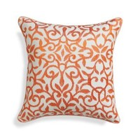 "Catania Coral 16"" Pillow with Down-Alternative Insert"