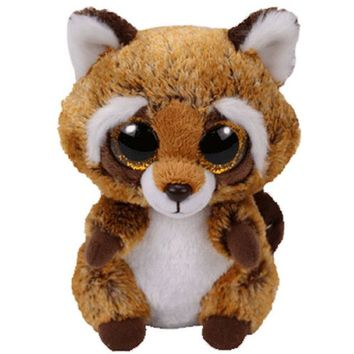 "Ty Beanie Boos 6"" 15cm &10cm Rusty the Raccoon monkey dog penguin rabbit Plush Regular Stuffed Animal Collection Soft Doll Toy"