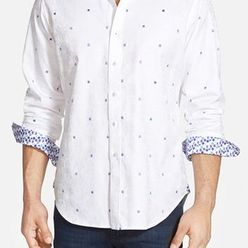 Men's Big & Tall Robert Graham 'Wave' Classic Fit Sport Shirt,