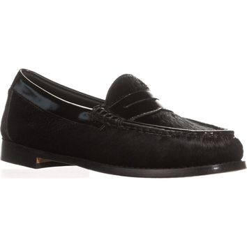 Weejuns G.H. Bass & Co. Whitney Penny Loafers, Black/Black, 9.5 US