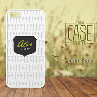 Personalized case for iPhone 5 and iPhone 4 / 4s - Plastic iPhone case - Rubber iPhone case - Name iPhone case - CB004