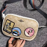 Coach Minnie Mouse Crossbody Clutch