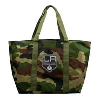 Los Angeles Kings NHL Camo Tote