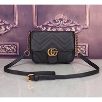 shosouvenir :Gucci :Women Leather Shoulder Bag Crossbody Satchel