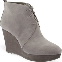 MICHAEL MICHAEL KORS - Pierce suede wedge ankle boots | Selfridges.com