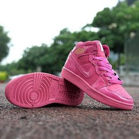 Nike Jordan Girls Boys Children Baby Toddler Kids Child Breathable Sneakers Sport Shoe-4