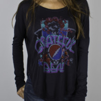 Grateful Dead Long Sleeve Tee - Women's New Arrivals - Long Sleeve - Junk Food Clothing