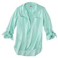 Mossimo Supply Co. Junior's Button Down Shirt - Assorted Colors
