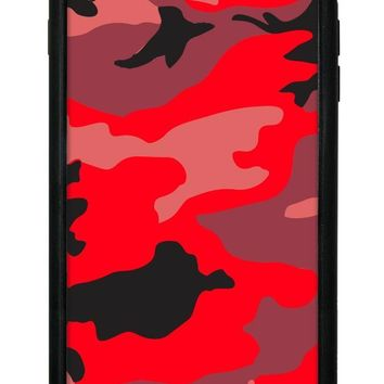 Red Camo iPhone 6/7/8 Plus Case
