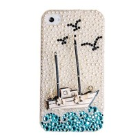 Voyage Blingbling Rhinestone Case For iPhone 5/5S