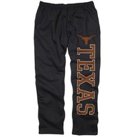 Texas Longhorns Black Couch Island Sweatpants