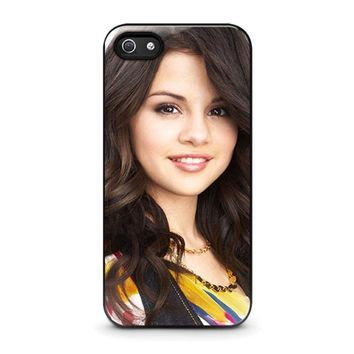 selena gomez iphone 5 5s se case cover  number 1