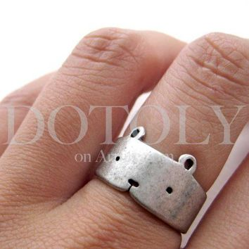 Adjustable Bear Ring