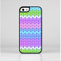 The Bright-Colored Knit Pattern Skin-Sert Case for the Apple iPhone 5/5s