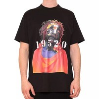 Indie Designs Givenchy Inspired '19520' Jesus Print T-shirt