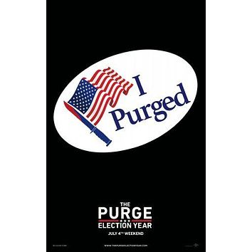 Purge 3 Movie Poster 11 inch x 17 inch
