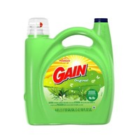 Gain with FreshLock for High Efficiency Machines Apple Mango Tango Liquid Detergent 72 Loads 150 Fl Oz(Pack of 2)