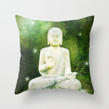 BUDDHA Throw Pillow by 📷 VIAINA | Society6